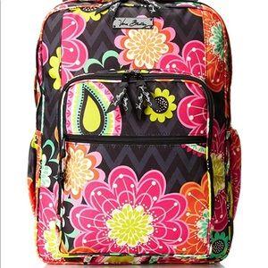 Vera Bradley ziggy zinnia backpack